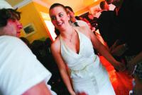 <p>Rachel shows off her prom dress to her boyfriend, Mike Condon, before she heads to the dance. Rachel and Mike since have broken up.</p>